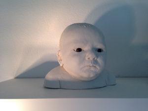 Modellieren, der Kopf 1:1