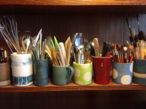Werkzeuge im Gestell