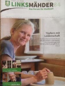 Bericht im Linksmähder, Titelseite