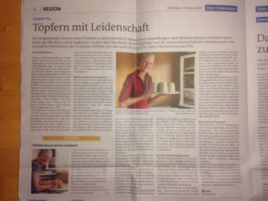 Unter Emmentaler: Töpfern mit Leidenschaft, ch-keramik.ch